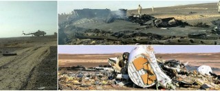 """Egitto, Airbus russo precipita sul Sinai: 224 vittime. Isis rivendica: """"Abbattuto"""". Air France e Lufthansa evitano tratta"""