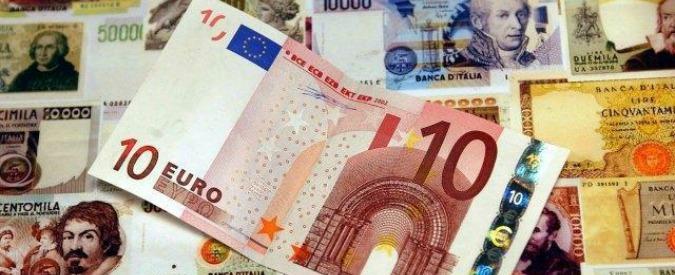 Cambio lira-euro, riaperto senza spiegare come fare. E allo Stato conviene