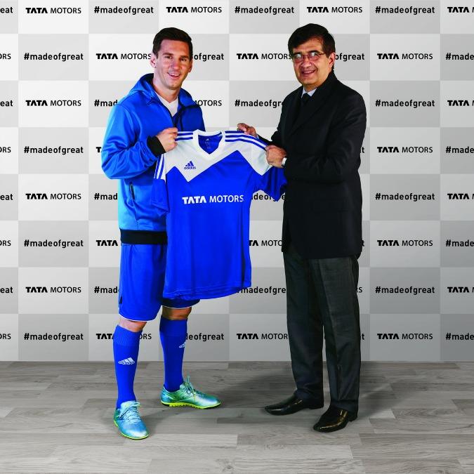 Tata, il marchio indiano ingaggia Lionel Messi come testimonial