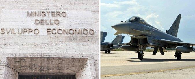 Stabilità, il 73% dei fondi del Mise per lo sviluppo delle imprese finisce ai programmi di armamento della Difesa