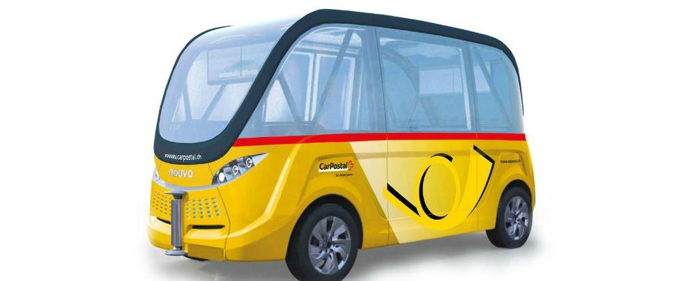 Navetta autonoma PostAuto