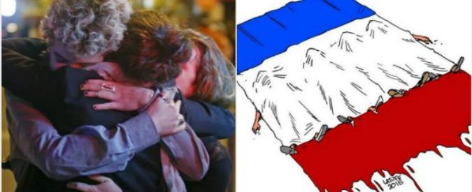 Attentati Parigi, #PrayForParis e #FranceUnderAttack: la solidarietà e le reazioni su Twitter il giorno dopo