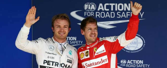 Formula 1, Gp Brasile: Rosberg in pole davanti ad Hamilton. Terzo Vettel