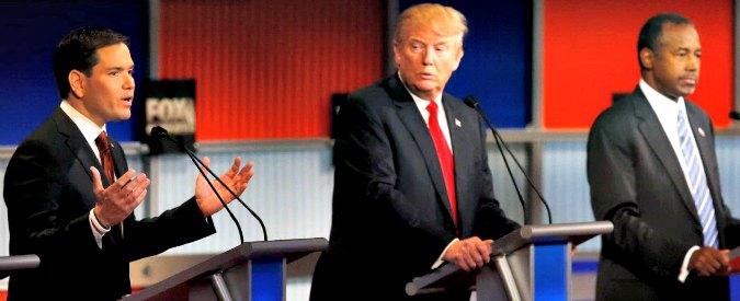 Presidenziali Usa 2016, nel dibattito repubblicano perdono gli anti-politici: Trump e Carson quasi fuori dalla corsa