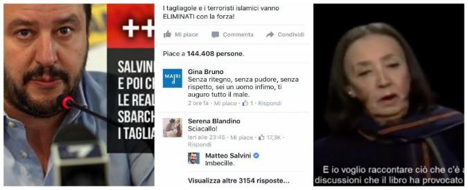 Attentati Parigi, Salvini: 'Buonisti = complici' . Rivolta su Facebook: 'Sciacallo'