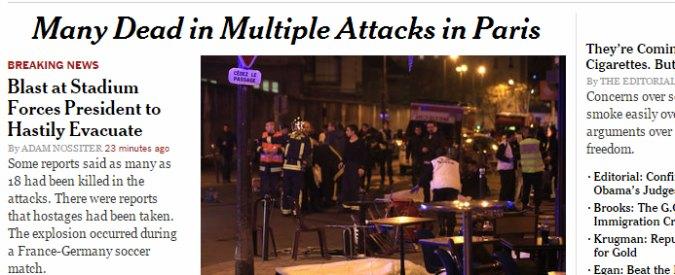 Attentati Parigi, l'anno orribile della Francia: dalla strage di Charlie Hebdo alla sparatoria del Bataclan