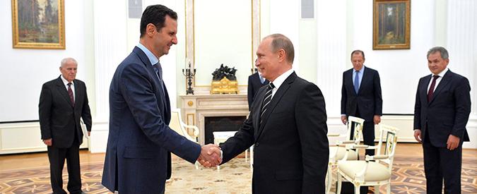 """Attentati Parigi, Assad: """"E' il risultato delle politiche sbagliate della Francia"""""""