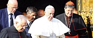 """Papa Francesco a Firenze critica la Cei: """"Dio protegga la Chiesa dal potere, dall'immagine e dal denaro"""""""