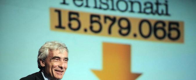 Vitalizi parlamentari, Boeri: 'Dimezzare quelli sopra 80mila euro'. Colpirebbe molti big, da Bertinotti a D'Alema e Fini