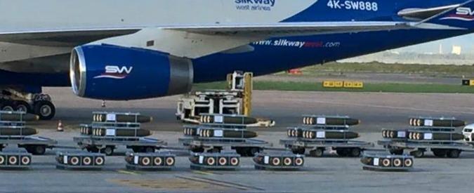 """Armi, deputato denuncia: """"Nuovo carico di bombe made in Italy in partenza da Cagliari per l'Arabia Saudita"""""""