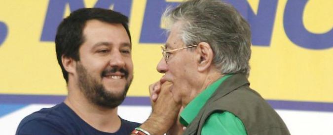 """Lega, così Salvini ha graziato i Bossi: querela """"ad personam"""" per i reati contestati solo all'ex tesoriere Belsito"""