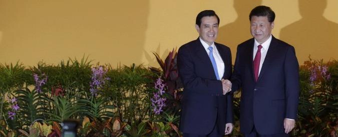"Cina-Taiwan, storico incontro tra i leader dei due paesi.  Xi Jinping: ""Siamo una famiglia"""