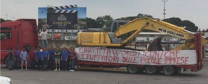 """Cinecittà World, pignorata l'area del parco di Abete e Della Valle. L'azienda: """"Infondato, nessun provvedimento"""""""