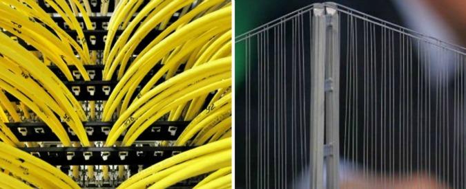 Banda ultralarga, Renzi rilancia sul ponte sullo Stretto mentre la rete pubblica in fibra resta un sogno