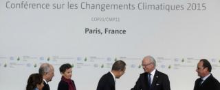 "Cop 21 a Parigi, Credit Suisse: ""Obiettivi vincolanti? Improbabile. Se accadrà rischiano gruppi petroliferi e auto"""
