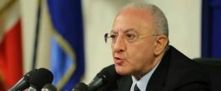 Vincenzo De Luca assolto in appello dall'abuso d'ufficio. Sfuma lo spettro della sospensione