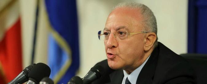 """De Luca, l'indagato: """"L'operazione l'ho fatta, mio credito è come quello di Germania verso Grecia"""""""