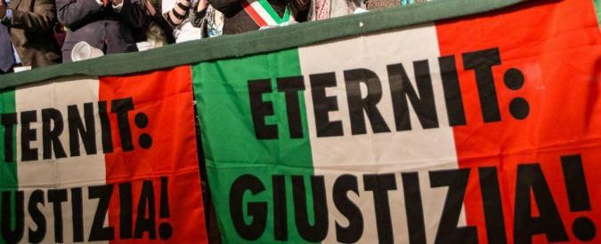 """Eternit, la Cassazione: """"Ricorsi procura inammissibili"""". Confermata la derubricazione a omicidio colposo"""