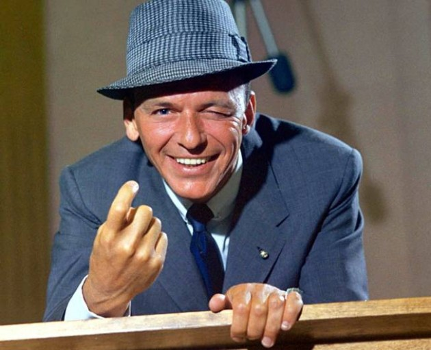"""Frank Sinatra 1959 """"Come Dance With Me"""" Capitol Records © 1978 Sid Avery"""
