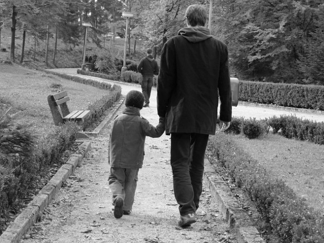 genitore-padre-figlio