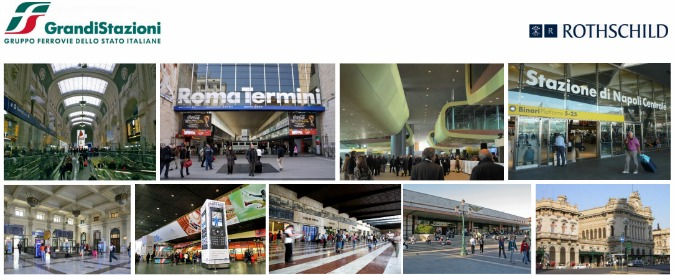 Ferrovie dello Stato vende i negozi delle grandi stazioni. Fuori i soci privati Benetton, Pirelli e Caltagirone