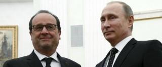 """Siria, Putin e Hollande: """"Siamo pronti a cooperare contro Isis"""". Ma stallo su Assad"""