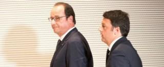 """Terrorismo, Renzi da Hollande: """"Coalizione sempre più ampia contro Isis"""". Londra, Cameron spinge sui raid in Siria"""