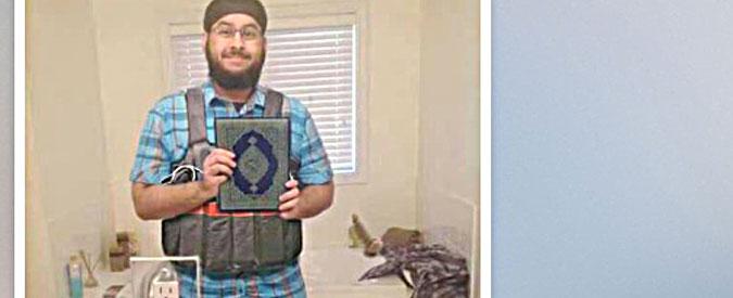 """Attentati Parigi, """"ecco uno dei terroristi"""". L'Isis pubblica la fotografia di un presunto kamikaze senza nome"""