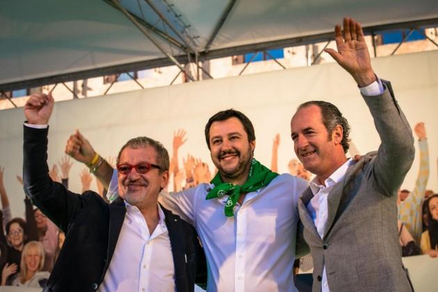 Liberiamoci e Ripartiamo!! Lega Nord in piazza a Bologna