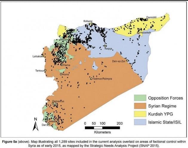 mappa siti archeologici