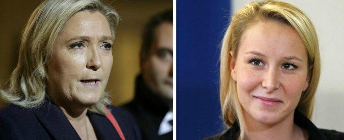 """Front National, """"effetto attentati"""" fa volare Marine e Marion Le Pen nei sondaggi per le Regionali in Francia"""