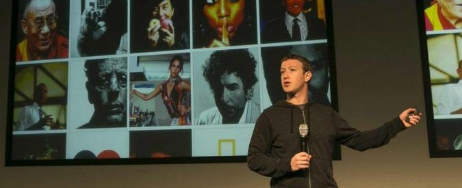 """Facebook, """"calano le condivisioni. Solo un terzo degli utenti aggiorna il suo status"""""""