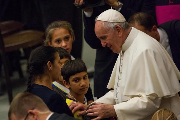 Papa Francesco: Udienza a Rom, Sinti e altri gruppi itineranti