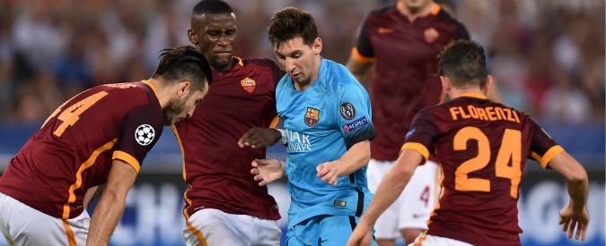 Barcellona-Roma: i giallorossi in Spagna per tentare l'impresa. Juve ospita il City per chiudere il discorso qualificazione