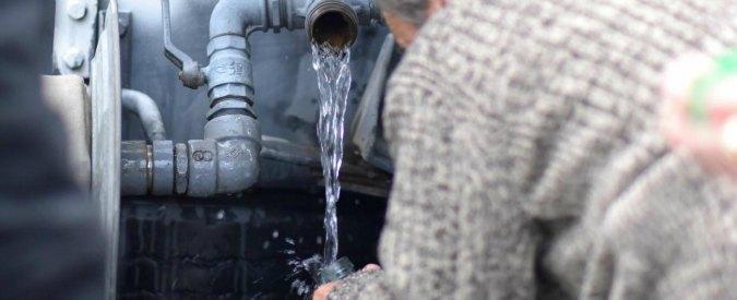 Messina senz'acqua: by-pass acquedotto rotto. Cdm dichiara stato d'emergenza