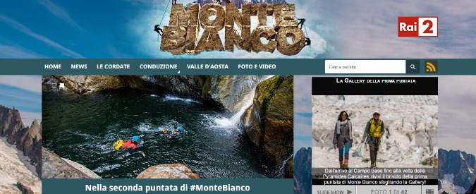 Monte Bianco, il reality per star sedentarie perde la sfida generazionale