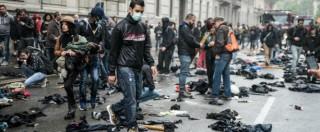 Milano, corteo No Expo del 1 maggio: 10 arresti tra Italia e Grecia per devastazione e saccheggio (FOTO)