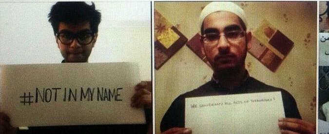 Attentati Parigi, #NotInMyName: la reazione dei musulmani alle stragi dell'Isis