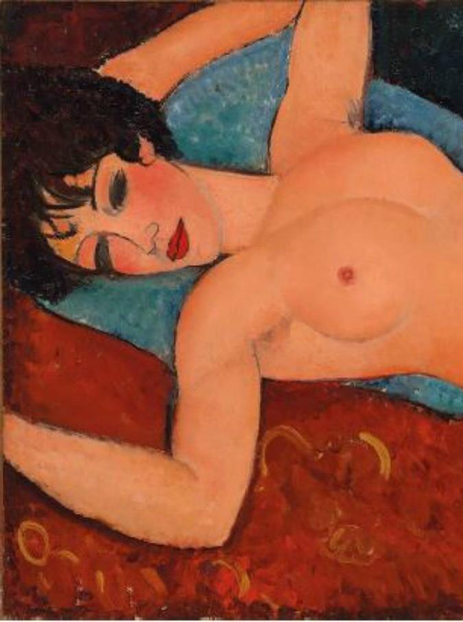 """Modigliani, """"Nu Couché"""" venduto a 170 milioni di dollari. Uno dei dipinti più belli di Modì a un magnate di Shangai"""