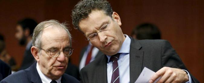 """Legge di Stabilità, Dijsselbloem: """"Solo Roma chiede tutta questa flessibilità. Dev'essere eccezione, non regola"""""""