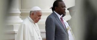 """Papa Francesco in Africa ai leader delle altre religioni: """"Mai Dio per giustificare la violenza"""" (FOTO)"""