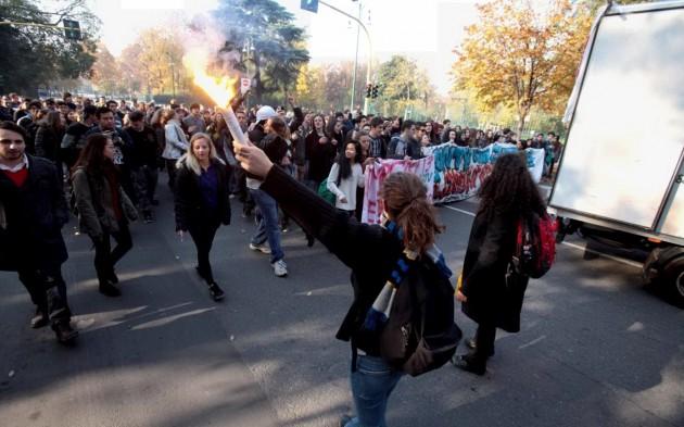 proteste studenti 1