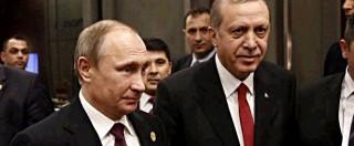Putin rifiuta l'incontro con Erdogan a Parigi: è ancora gelo tra Turchia e Russia