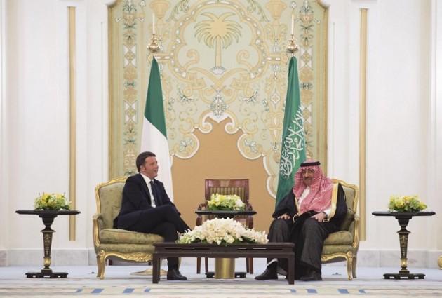 Arabia Saudita, Premier Matteo Renzi in visita a Riad