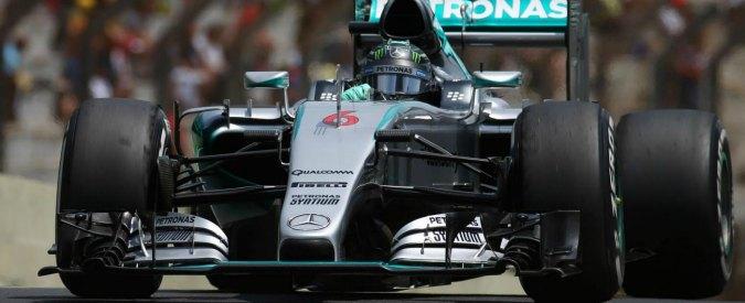Formula 1, Gp Brasile: vince Rosberg davanti ad Hamilton. Terzo Vettel