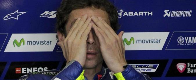 Valentino Rossi, la corsa al Mondiale dell'eterno ragazzino si ferma a Valencia. Come nove anni fa