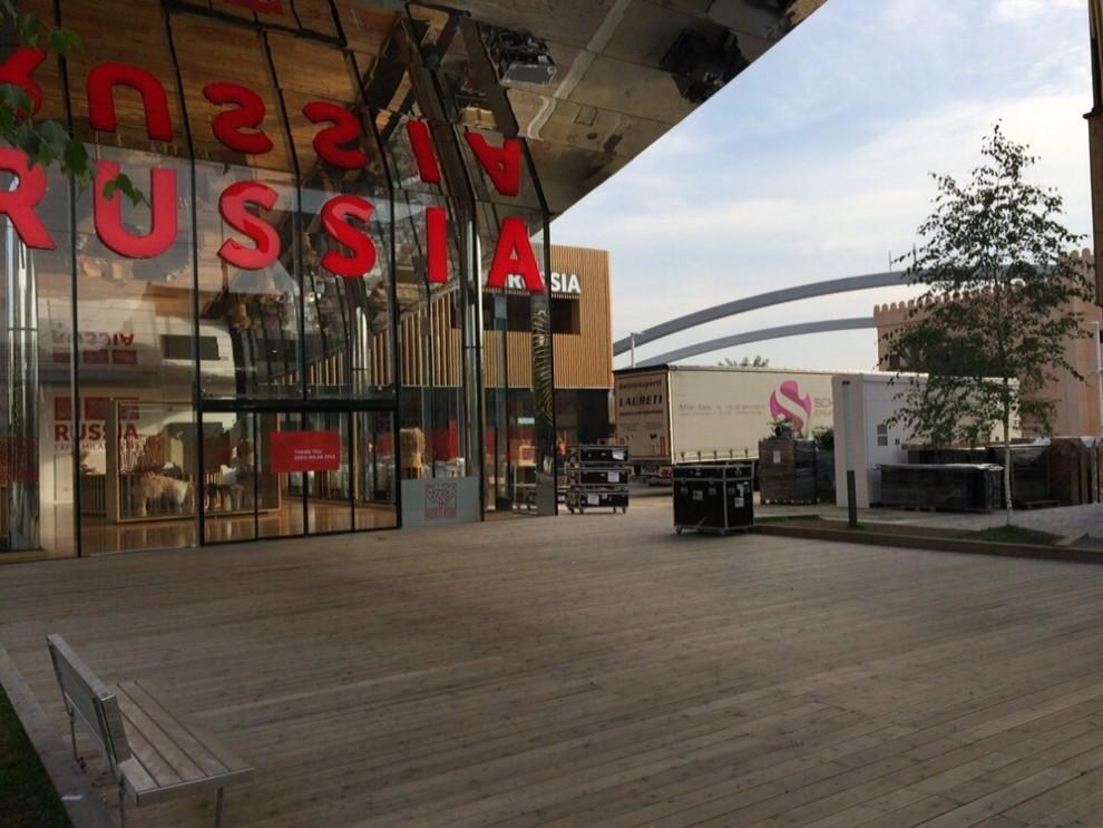"""Expo, padiglione russo non paga le ditte italiane: """"Abbiamo paura che se ne vadano senza saldare ..."""