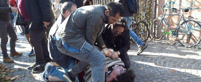 """Scontri Bologna, scarcerati 3 antagonisti. Salvini: """"Giustizia italiana fa schifo"""""""