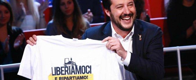 """Matteo Salvini a Bologna con Berlusconi """"gregario"""". Un anno dopo l'aggressione"""