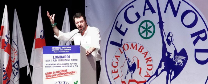 """Lega Nord, la base chiede ancora la secessione a Salvini: """"Ok il consenso, ma non dimenticare il tuo popolo"""""""